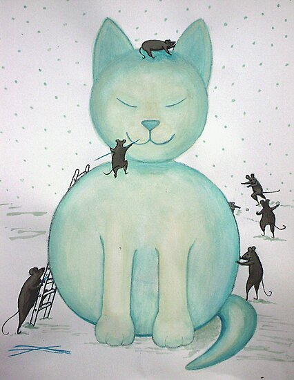 Snowcat by fesseldreg
