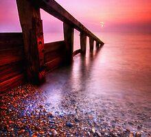 Aldeburgh Beach Suffolk 6. by Wayne Bradshaw