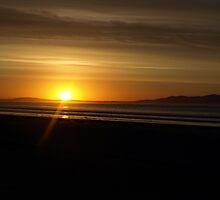 Sunrise at Waratah Bay by nikki newman