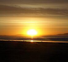 Sunrise at Waratah Bay 2 by nikki newman
