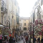 Antibes Main Street by knomz
