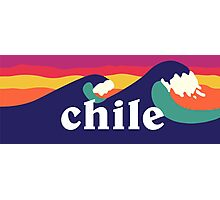 Chile Surf Waves Photographic Print