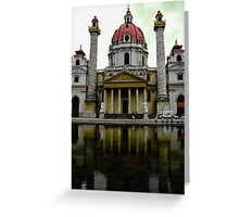 Karlskirche Cathedral Greeting Card