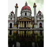 Karlskirche Cathedral Photographic Print
