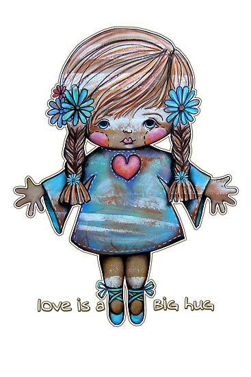Love is a Big Hug by Karin  Taylor