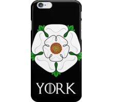 The House of York - with text iPhone Case/Skin