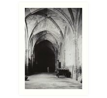 Inside the Cathedral of Toledo Art Print