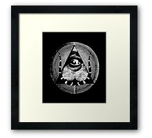 dali's all-dreaming eye Framed Print
