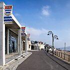 All Quiet Along The Promenade - Lyme Regis by Susie Peek