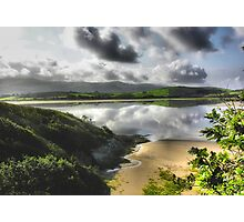 Portmeirion Beach, Wales Photographic Print