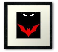 Batman Beyond In the Dark Framed Print