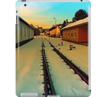 The railway station of Aigen | architectural photography iPad Case/Skin