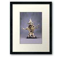 Isabel's goblin Framed Print