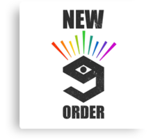 New 9gag order - no banana for scale Canvas Print