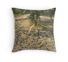 Harvest of olives Throw Pillow
