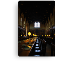 Dining Hall, Christ's College, Oxford. Canvas Print