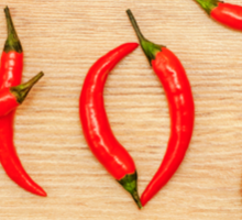 Hot Chili Peppers Sticker