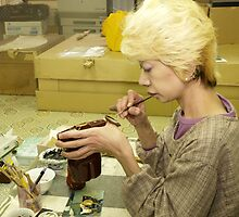 Japanese Craftswoman  by johnrf