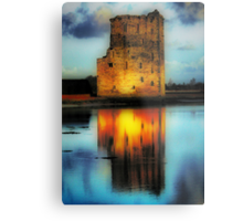 Carrigafoyle Castle Metal Print