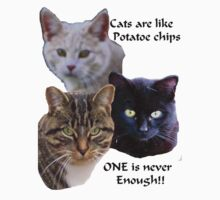 Cats are Like Potato Chips by MaeBelle