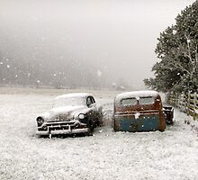Winter Wrecks by imarkimages
