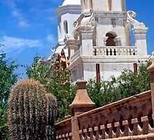 San Xavier  by Sue  Cullumber