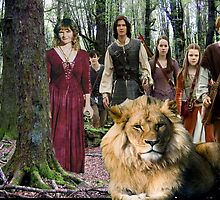 me and the Narnia crew by HayleyJS
