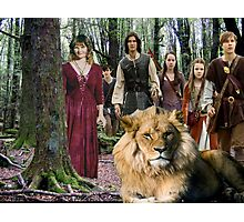 me and the Narnia crew Photographic Print