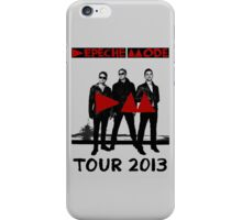 Depeche Mode : Tour 2013 Poster iPhone Case/Skin