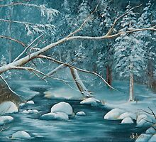 Winter Snow by jillryanstudios