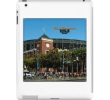 San Francisco Home of Baseball Fever iPad Case/Skin