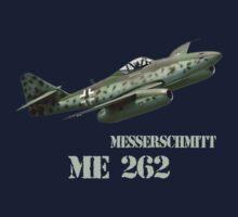 Messerschmitt ME 262 by hottehue