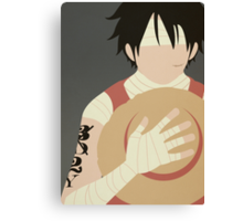 Luffy tribute has Ace Canvas Print