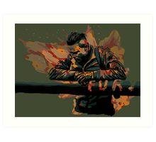 Fury: Best Job I Ever Had Art Print