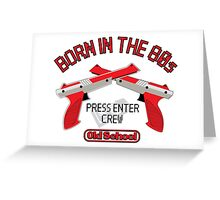 PRESS ENTER Greeting Card