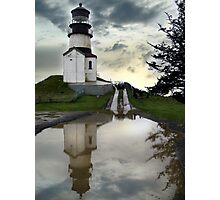 cape disappointment Photographic Print