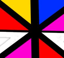 Geometry color Sticker