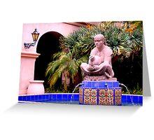 Prado Fountain at Balboa Park Greeting Card