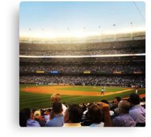 An Evening At The Ballpark 2 Canvas Print