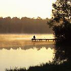 Fishing at Dawn by Kasia Nowak