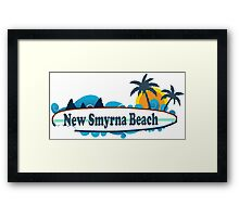 New Smyrna Beach - Florida. Framed Print