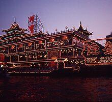 Hong Kong Floating Restaurant by Anna Lisa Yoder