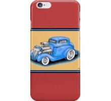 HOT ROD CAR DESIGN iPhone Case/Skin