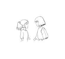 Haku + Chihiro by makarsmyhomeboy
