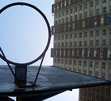 Basketballnet by Kimberley Sophie