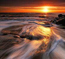 Southwold Beach Suffolk 4. by Wayne Bradshaw