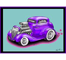 HOT ROD CHEV STYLE CAR Photographic Print