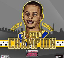 THREE POINT CHAMPION - Stephen Curry - SMILE DESIGN 2015 by fgcsmile