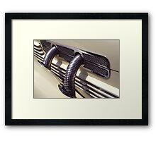 1937 Cord Phaeton Supercharger Pipes Framed Print