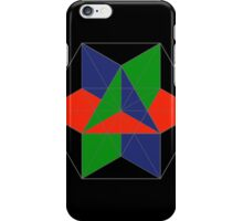 3D cube-octahedron iPhone Case/Skin